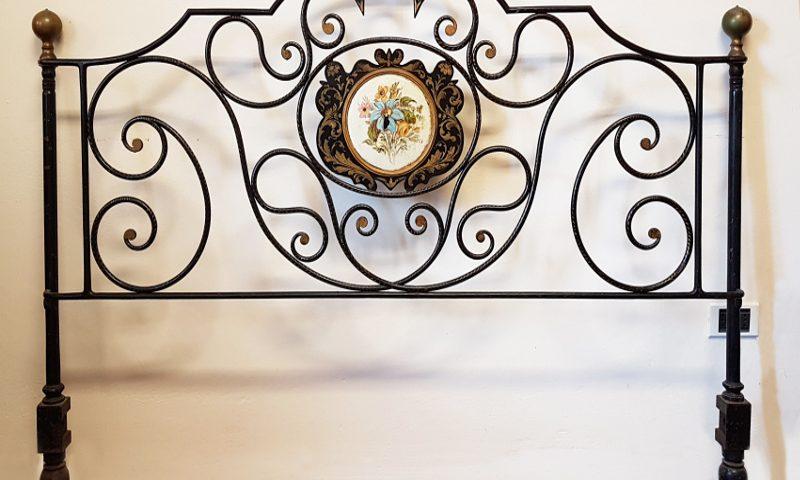Testate Letto Ferro Battuto Toscana.Letto Matrimoniale Toscana Secolo Xviii Poggini